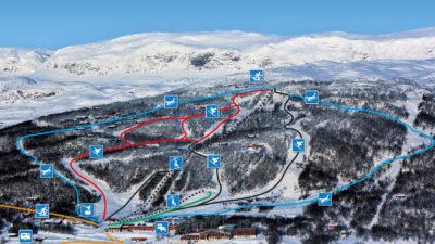 bilde fra Skarslia Ski og Akesenter