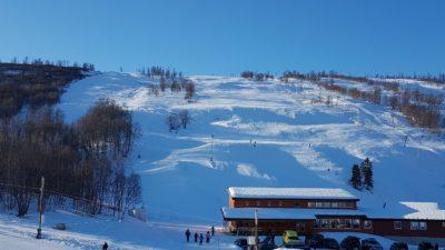 bilde fra Vestvatn Alpinanlegg