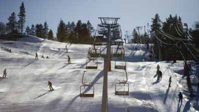 bilde fra Brokke Alpinsenter