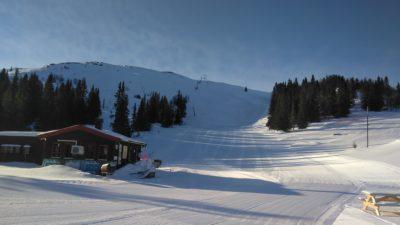 bilde fra Rondane skianlegg - tidligere Mysusæter