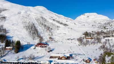 bilde fra Sunnmørsalpane Skiarena Fjellsætra