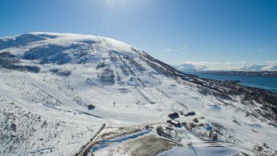 bilde fra Tromsø Alpinpark