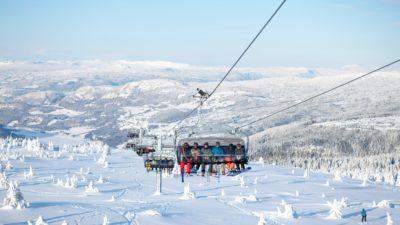 bilde fra Hafjell Alpinsenter