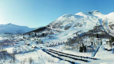 bilde fra Arena Overøye Stordal Alpinsenter