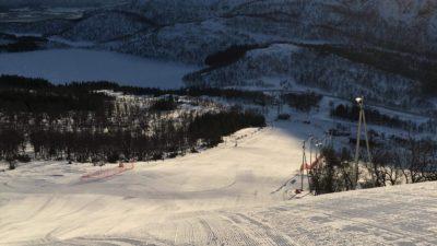 bilde fra Ånstadblåheia Alpinsenter