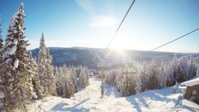 bilde fra Kvitfjell Alpinanlegg