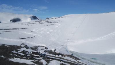 bilde fra Juvass - Galdhøpiggen sommerskisenter