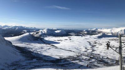 bilde fra Ørskogfjell Skisenter