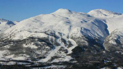 bilde fra Raulandsfjell Alpinsenter