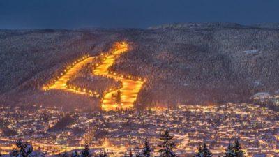 bilde fra Drammen Skisenter