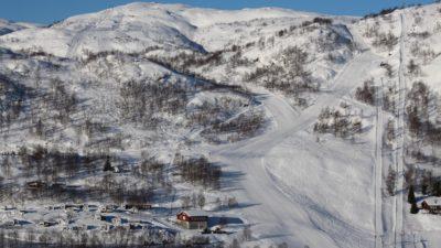 bilde fra Ådneram Skitrekk