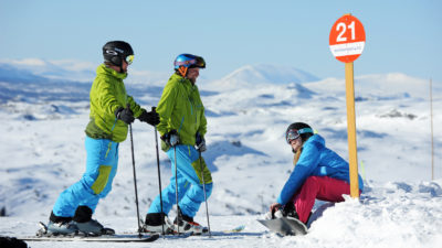 bilde fra Skeikampen Alpinsenter