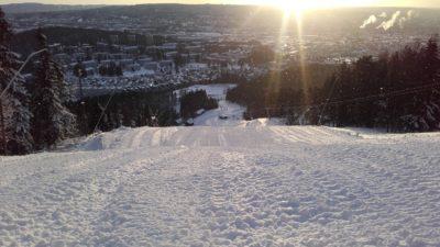 bilde fra Oslo Skisenter
