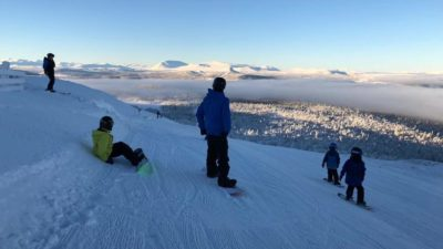 bilde fra Gålå Alpin Skisenter