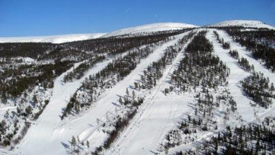 bilde fra Fulufjellet Alpinsenter