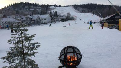 bilde fra Lommedalen Skisenter