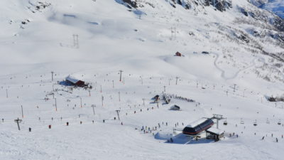 bilde fra Røldal Skisenter