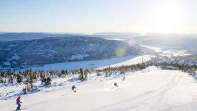 bilde fra Norefjell Skisenter