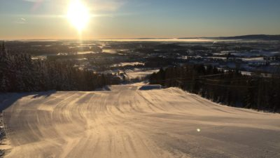 bilde fra Nannestad Skisenter