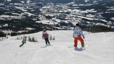 bilde fra Meråker Alpinsenter