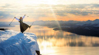 bilde fra Narvikfjellet