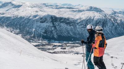bilde fra Myrkdalen Fjellheiser