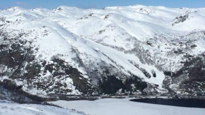 bilde fra Bjørnestad Skisenter